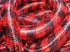 BLACK RED METALLIC STRIPE TUBULAR CRIN CYBERLOX