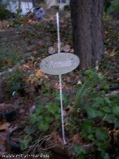 Garden Stake Set of 6, herbs, annuals, perenials, bulb