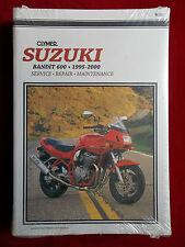 SUZUKI 1995 - 2000 BANDIT 600 Clymer Service Manual