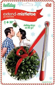 DCI Extend Telescopic Mistletoe(Holiday Kisses on the Go) Extends 30 inches!