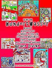 IK HOU VAN Hundertwasser Kleurboek Geïnspireerd Door de Fantastic Art Style...