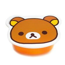 AUTH Japan San-X Rilakkuma Face Diecut Microwavable Dish Accessory Container