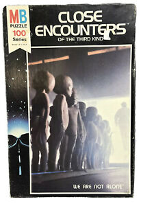 NEW PUZZLE - CLOSE ENCOUNTERS OF THE THIRD 3rd KIND Milton Bradley 1977 Aliens