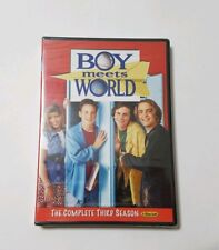 Boy Meets World: Complete 3rd Season DVD Full Screen Version -- NEW!
