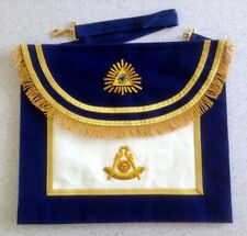Scottish Style Past Master Apron (PM-ES3L)