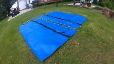 Blue  Vinyl  trampoline for Hobie Cat 16