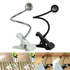 Flexible USB Reading LED Light Clip-on Beside Bed Desk Table Lamp Warm White New