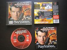 JEU Sony PLAYSTATION PS1 PS2 : DEMAIN NE MEURT JAMAIS (James Bond 007 COMPLET)