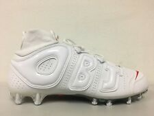 c7f6dd494 Nike Vapor Untouchable Pro 3 OBJ Uptempo Cleats White Crimson BV7553 100  Size 14