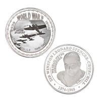WR Combat Wings Battle of Britain Commemorative Coin World War II 2 Memorabilia