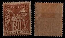 SAGE 30c brun-jaune, Neuf * gommé = Cote 120 € / Lot Classique France n°80
