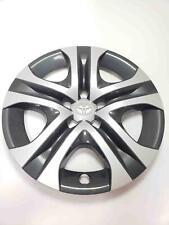 """17"""" Wheel Cover 2016 TOYOTA RAV4 2.5L 5-Spoke Dark Gray/Silver #42602-42020"""
