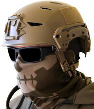 MILSPEC MONKEY MSM DUSTY BROWN SKULL FACE MULTI WRAP TACTICAL HEAD MASK SHEMAGH
