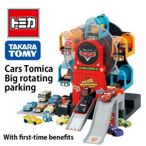 2021 TAKARATOMY Cars Tomica Big rotating parking with first-time benefits