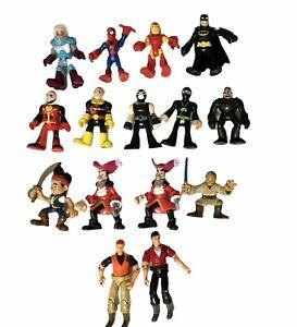 Lot 15 Imaginext Super Heroes Skywalker DC Comics Marvel Figure
