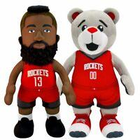 "Houston Rockets Bundle: Clutch The Mascot and James Harden 10"" Plush Figures"