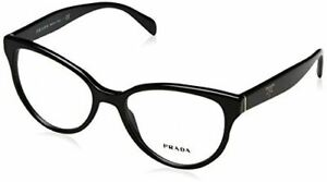 Eyeglasses Prada PR 1 UV 1AB1O1 Black