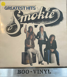 Smokie – Greatest Hits Vinyl LP Compilation 33rpm 1977 RAK – SRAK 526  EX Con