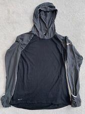 Womens Nike Running Dri Fit Long Sleeve Top Medium Hoodie