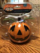 Solar-powered Dancing Bobble Head Toy - Pumpkin Jack-o'-Lantern