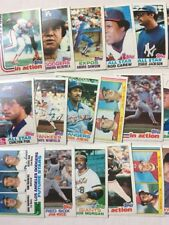 1982 Topps Baseball Cards Semi Stars. Pick 5 to Complete Your Set.