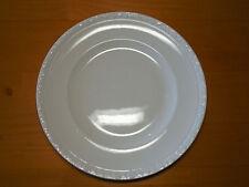 "Wedgwood Engand HEDGE ROSE WHITE Set of 3 Dinner Plates  9 7/8"" Embossed Rim"