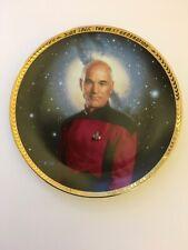 Captain Jean-Luc Picard Plate Star Trek The Next Generation The Hamilton Collect