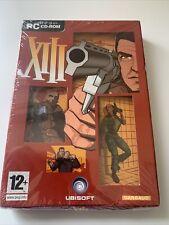 XIII-PC CD-ROM-Shooting Spiel 15 Waffen Action verpackt Level NEU & VERSIEGELT