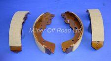Brake Shoes Rear (4) for Nissan Navara Pickup D40 2.5TD (YD25DDTI) 5/2005->