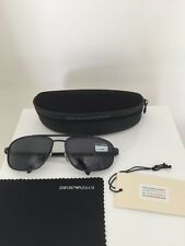 Vintage Emporio Armani Sunglasses EA 068 Matte Navy/Dark Blue C. 1013 Made Italy