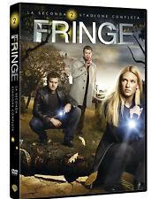 FRINGE - STAGIONE 2 (6 DVD) COFANETTO SECONDA SERIE COMPLETA WARNER HOME VIDEO