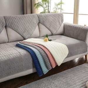 Sofa Covers  Room  Plush Sofa Cushion Couch Cover Corner Sofa Towel Seat Pad