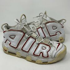 Nike Air More Uptempo White Red 2006 Size 11 (312971-161) Rare
