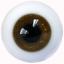 [wamami]10mm Brown Shinny  Glass Eyes For BJD Doll Dollfie Outfit Accessories