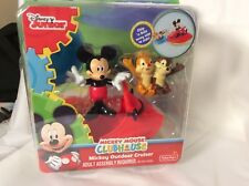 NIB Fisher-Price Disney Mickey Mouse Clubhouse Mickey Outdoor Cruiser Playset