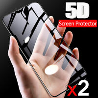 2X Huawei Mate 20 20 Pro 5D Full Coverage Tempered Glass Screen Protector Guard