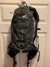 Osprey Packs Raptor 10 Mens Bike Hydration Hiking Backpack S/M Grey