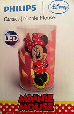 Nachtlicht LED Minnie Mauswiederaufladbar mit USB-Kabel Geschenk  Philipps