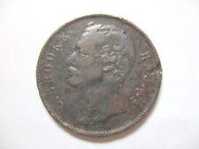 1891 Charles J. Brooke, Rajah. Sarawak. 1 cent copper