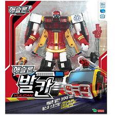 NEW TOBOT ATHLON VULCAN Transformer Robot Rescue Sports Team Toy Korea Animation
