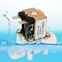 """NEW 12V NC G1/2"""" Plastic Electrical Inlet Solenoid Water Valve Water Dispense"""