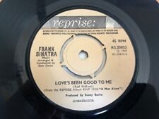 "Frank Sinatra - Love's Been Good To Me 7"" Vinyl Single Record"