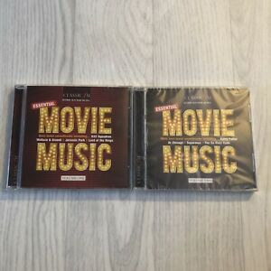 CLASSIC FM 191a & 191b ESSENTIAL MOVIE MUSIC SET CLASSICAL CD, NEW AND SEALED