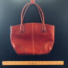 Fossil Red Leather Handbag Purse Sm
