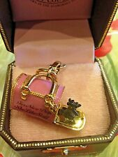 NWT JUICY COUTURE DOG CARRIER CHARM YJRUS370