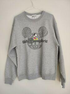 Walt Disney World Mickey Mouse Jumper Disney Parks Size M Grey