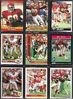 Kansas City Chiefs Neil Smith 1990's Topps Score Fleer NFL Football Card Lot