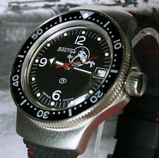 Vostok Amphibian, Amphibia 'Scuba Dude' Auto Dive Watch, New, Boxed, UK seller