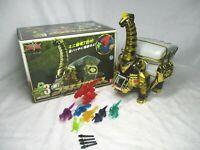 Power Rangers Dino Thunder BRACHIO ZORD ABARANGER Bandai 4 missiles 7 dinosaurs