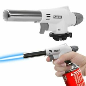 Camping Gas Torch Welding Fire Maker Lighter Butane Burner Flame Gun Tool US!